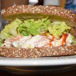 カニ料理 カニのサンドイッチ