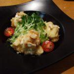 お正月のカニ料理 タラバガニのマヨネーズ和え