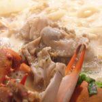 お正月のカニ料理 カニと牡蠣の鍋
