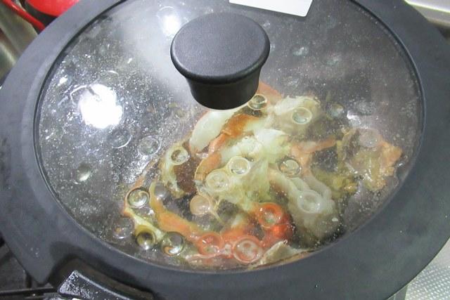 ヒラヅメカニ 丸ガ二 丸蟹 トマトパスタ