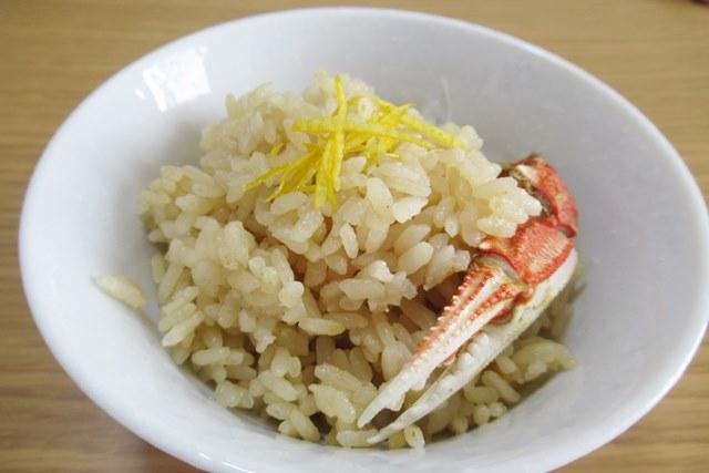 ヒラヅメカニ 丸ガニ 炊き込みご飯 レシピ