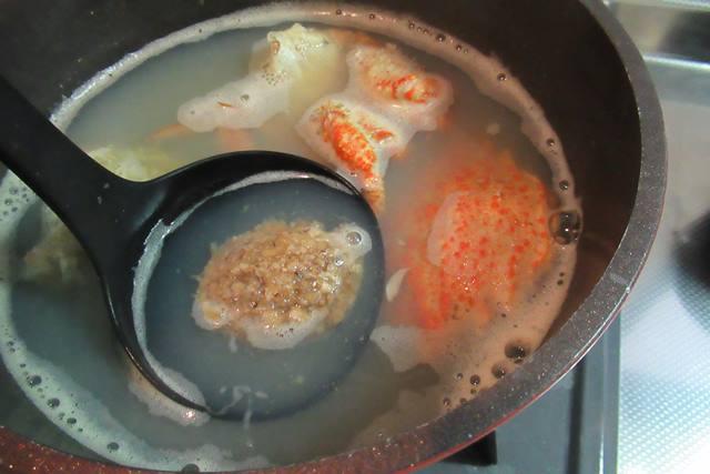 クリガニ 栗毛ガニ おみそ汁つくり方