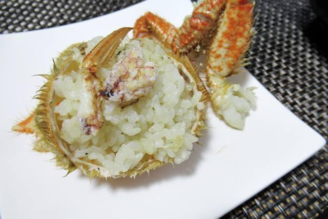 クリガニ 栗毛ガニ 炊き込みご飯 作り方
