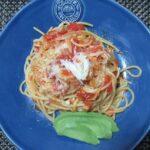 毛ガニのトマトパスタ 作り方