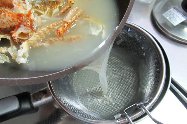 毛ガニラーメン 作り方