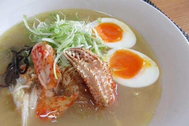 毛ガニのラーメン 作り方 レシピ